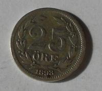 Švédsko 25 Öre 1898