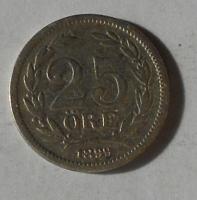Švédsko 25 Öre 1899