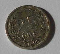 Švédsko 25 Öre 1905