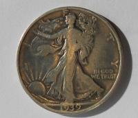 USA 1/2 Dolar 1939 D