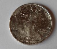 USA 1/2 Dollar 1917 S