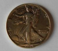 USA 1/2 Dollar 1946 stav