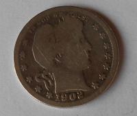 USA 1/4 Dollar 1902