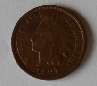 USA 1 Cent 1907
