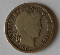 USA 10 Cent 1907