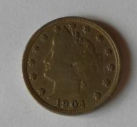 USA 5 Cent 1904