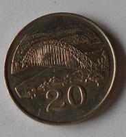 Zambie 20 Cent 1997