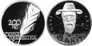200 Kč(2003-Vrchlický), stav bk, kapsle