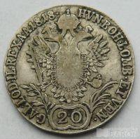 Uhry 20 Krejcar František II. 1818 B