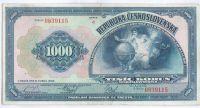 1000Kč/1932/, stav 1/2, série C, unikátní zachovalost