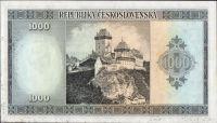 1000Kčs/1945-bl/, stav 0, série BE