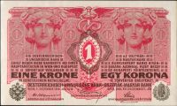 1K/1916/, stav UNC, série 1424