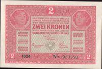 2K/1917/, stav UNC, série 1324