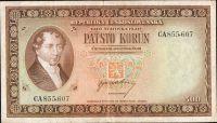 500Kčs/1945-bl/, stav 2+, série CA