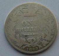Anglie 1 Schill 1883 Viktorie