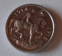 Anglie Medaile na 1. sv. Válku 1914-1918