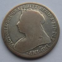 Anglie Schilling 1899 Viktorie