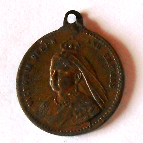 Anglie Žeton-královna Viktorie