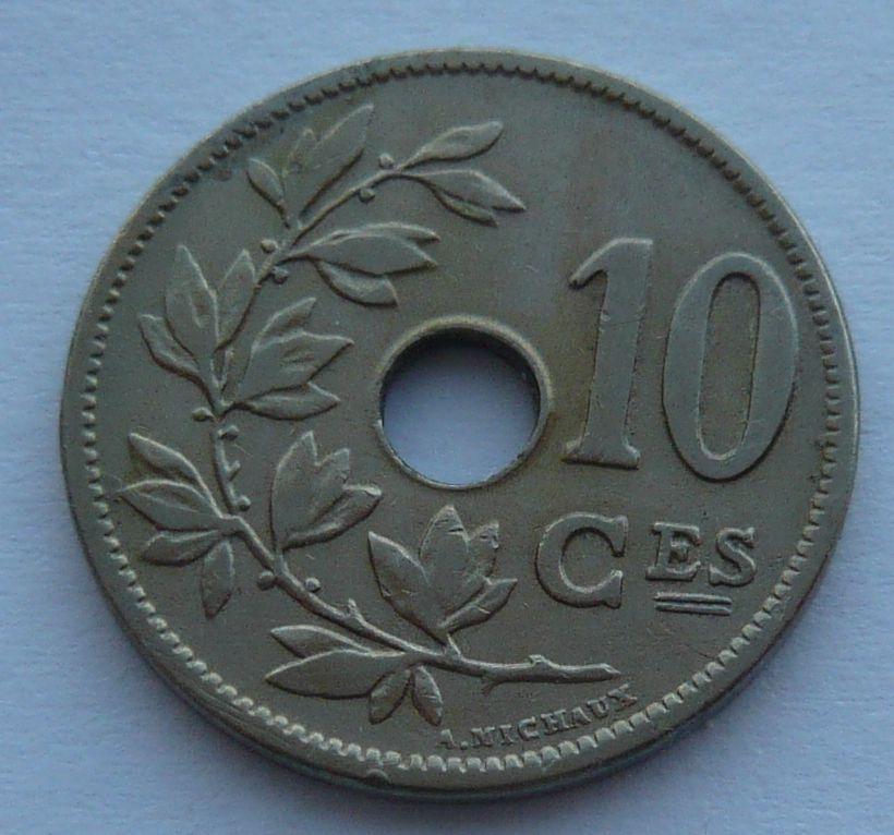 Belgie 10 Cent 1905