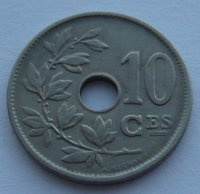 Belgie 10 Cent 1920