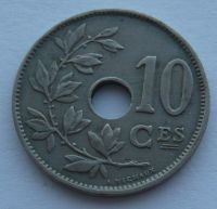 Belgie 10 Cent 1929