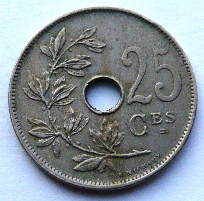 Belgie 25 C 1929