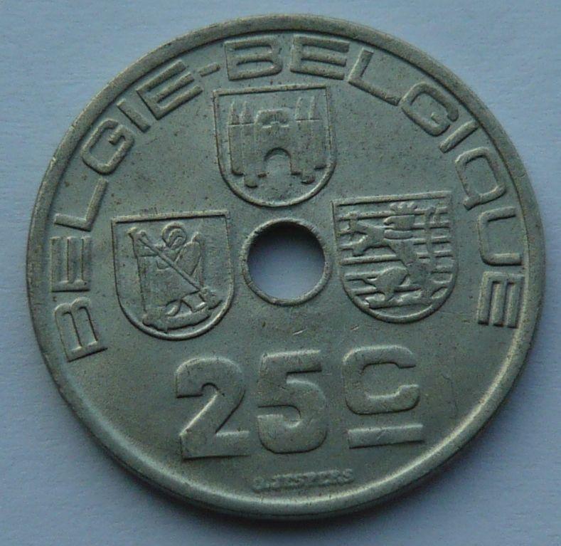 Belgie 25 C 1938