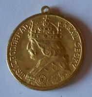 Čechy Jiří z Poděbrad Pamětní medaile