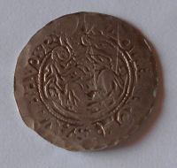 Čechy napodobenina dukátu Rudolfa II.