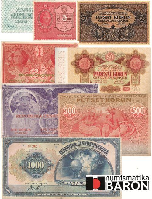 Státovky I. emise roku 1919