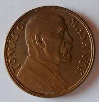 ČSR 85. narozeniny TGM 1933 průměr 50mm