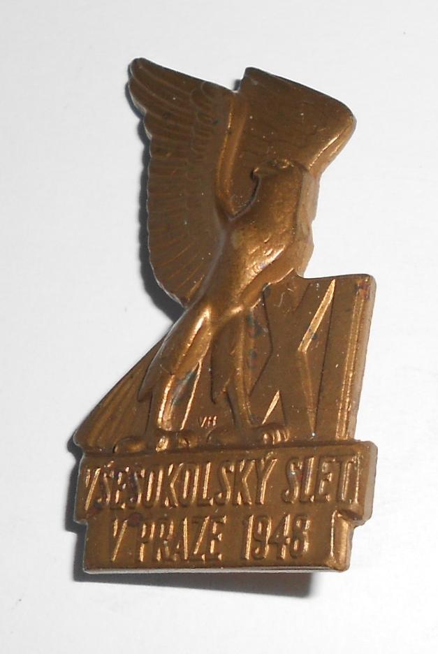 ČSR XI. Všesokolský slet 1948 těžký kov
