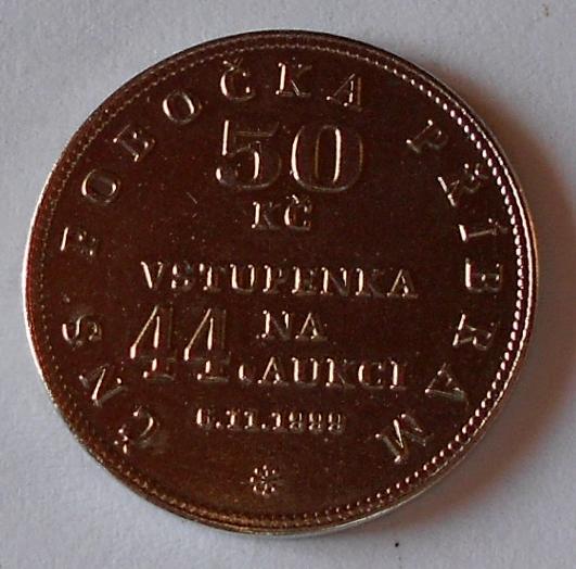 ČSR Žeton ČSN Příbram 1999