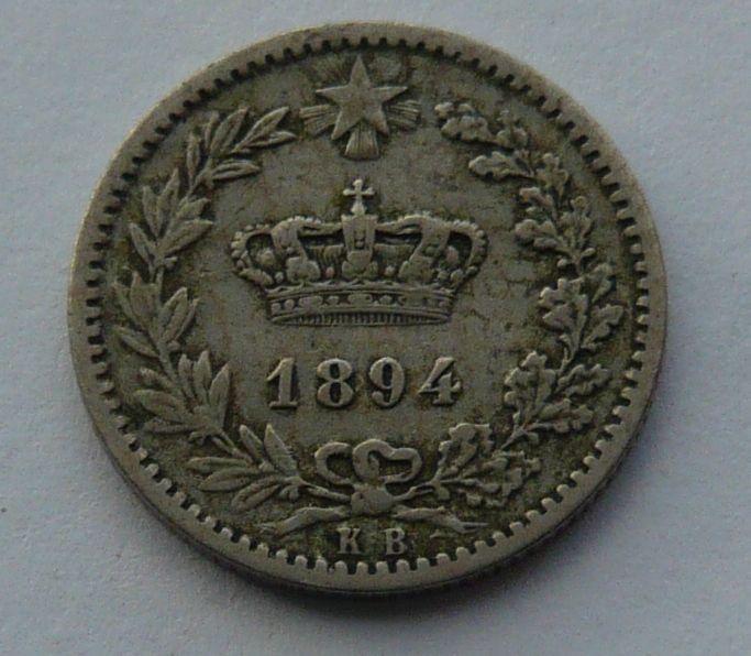 Itálie 20 Centisimi 1894