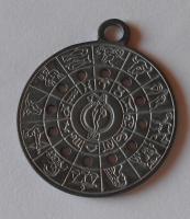 Kalendářová medaile Znamení zvěrokruhu