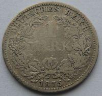 Německo 1 Marka 1875 F