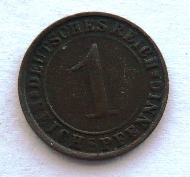 Německo 1 Pfenig 1925