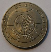 Polsko 50 Zl. FAO 1981