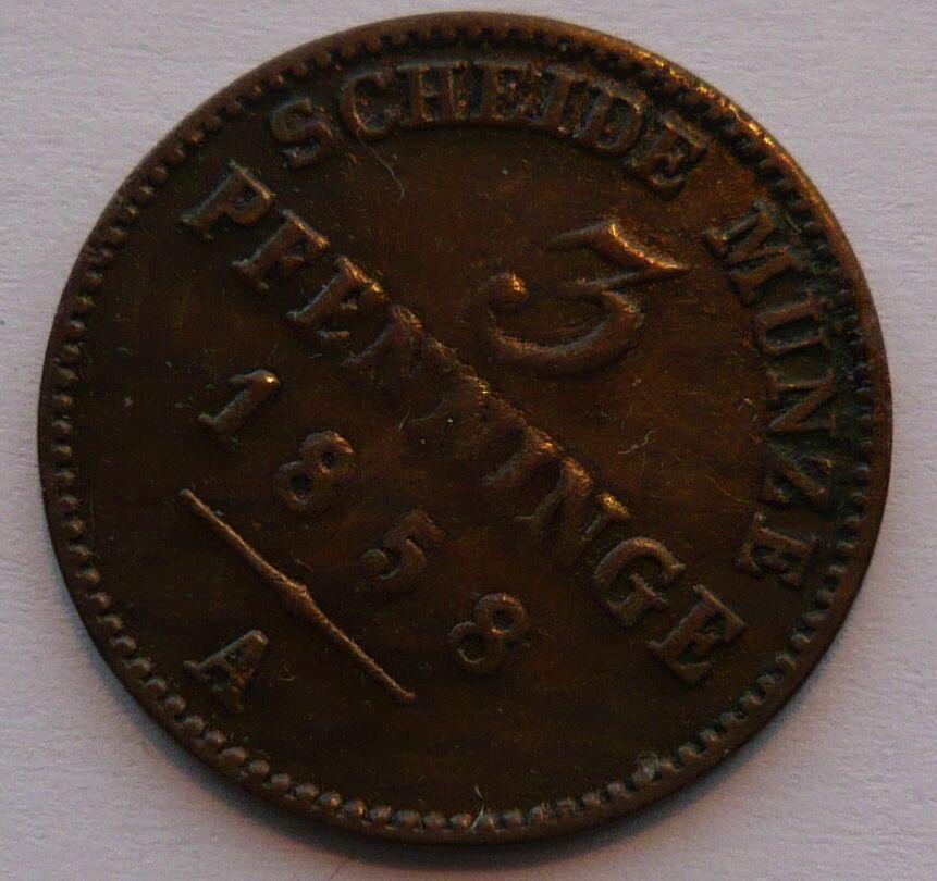 Prusko 3 Fenik 1858 A