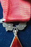 """Řád rudé hvězdy II. vydání (etue a dekret), číslo 5349, stříbro, značeno ZUKOV a puncováno """"900"""""""