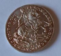 Rakousko Ferdinand Karel 1642-1963 ag medaile