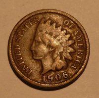 USA 1 Cent 1906