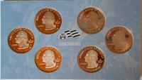 USA Sada 1/4 Dolarů