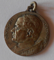 Vatikán Pontifikační medaile Pius XI.