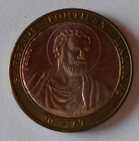 Vatikán sv. Petr bimetal