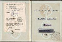 Vkladní knížka, Poštovní spořitelna ČSR (1948)