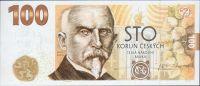100Kč(2019-Alois Rašín), stav UNC, první pamětní bankovka ČR, uložena v originálním balení ČNB