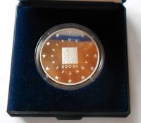 200 Kč(2004-Vstup ČR do EU), stav PROOF, etue a certifikát