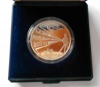 200 Kč(2008-Ponrepo), stav PROOF, etue a certifikát