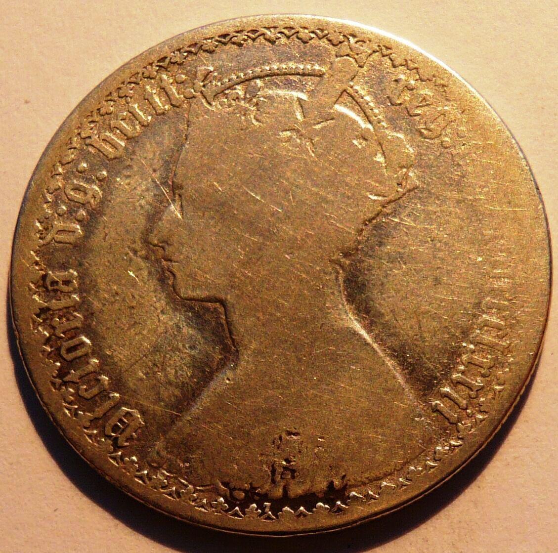 Anglie Florin 1872